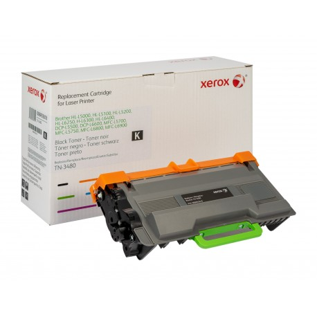 Toner Xerox remplace Brother TN3480 Noir