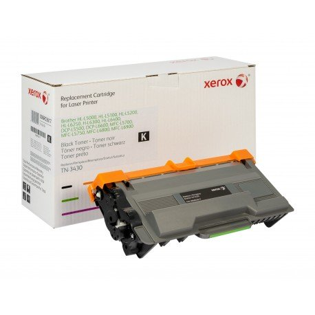 Toner Xerox remplace Brother TN3430 Noir