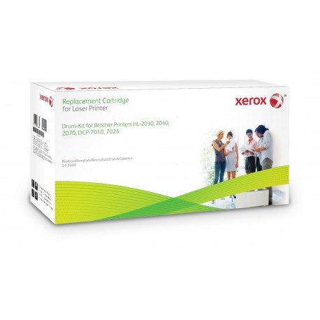 Toner Xerox remplace Brother DR2000 Noir