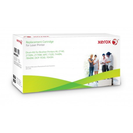 Toner Xerox remplace Brother DR2100 Noir