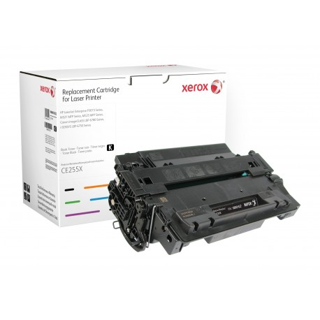 Toner Xerox remplace HP CE255X Noir