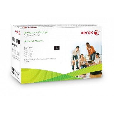 Toner Xerox remplace HP CE505X Noir