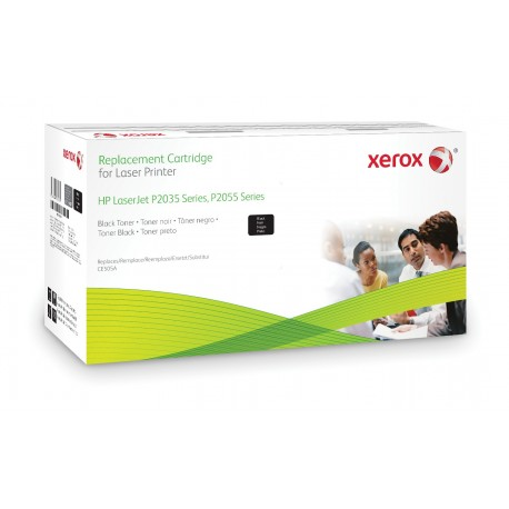 Toner Xerox remplace HP CE505A Noir