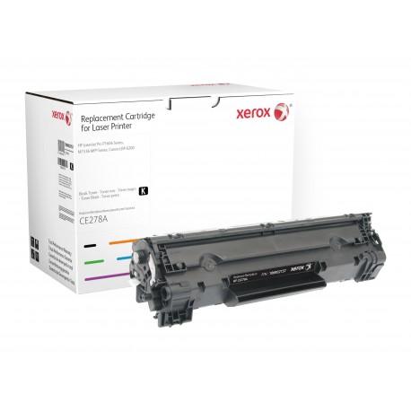 Toner Xerox remplace HP CE278A Noir