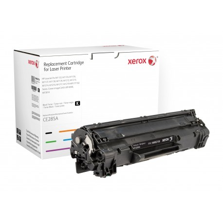 Toner Xerox remplace HP CE285A Noir