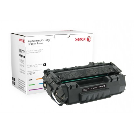 Toner Xerox remplace HP Q7553A Noir