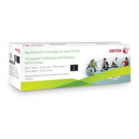 Toner Xerox remplace HP CB436A Noir