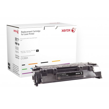 Toner Xerox remplace HP CF280A Noir