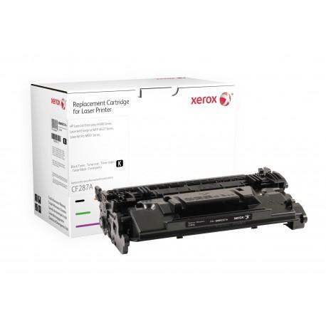 Toner Xerox remplace HP CF287A Noir