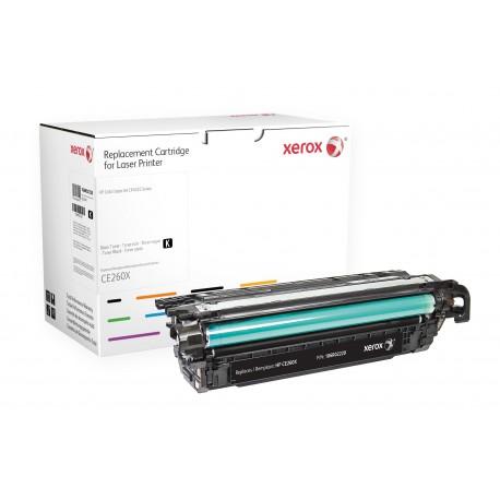 Toner Xerox remplace HP CE260X Black
