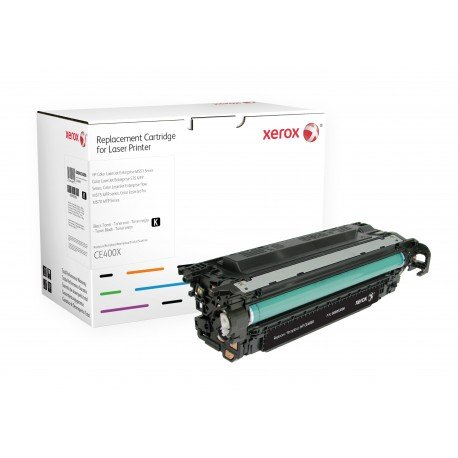 Toner Xerox remplace HP CE400X Black