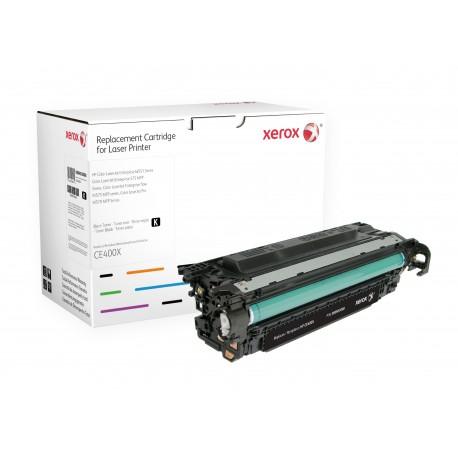 Toner Xerox équivalent HP CE400X Black