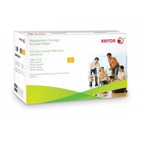 Toner Xerox équivalent HP Q2672A Yellow