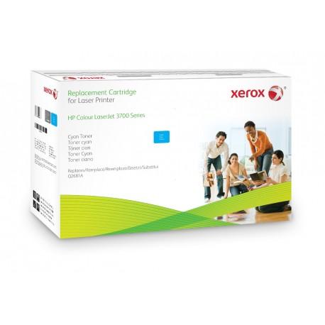 Toner Xerox remplace HP Q2681A Cyan