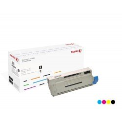 Toner Xerox équivalent OKI 44318607 Cyan