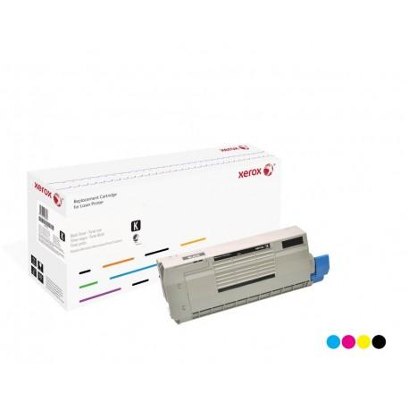 Toner Xerox remplace OKI 44318607 Cyan