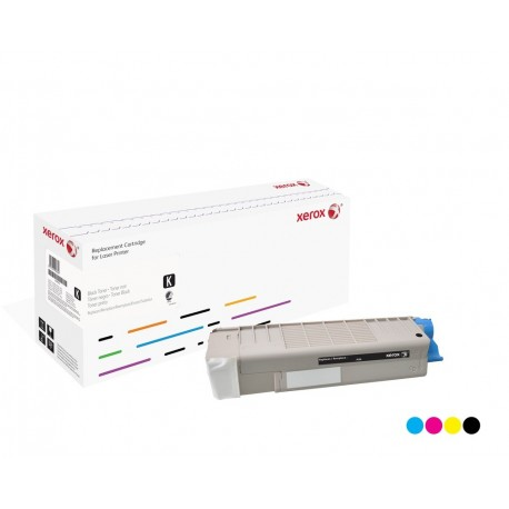 Toner Xerox remplace OKI 43865708 Black