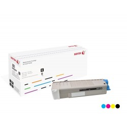 Toner Xerox équivalent OKI 43872307 Cyan