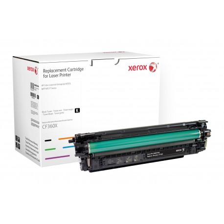 Toner Xerox remplace HP CF360X Black
