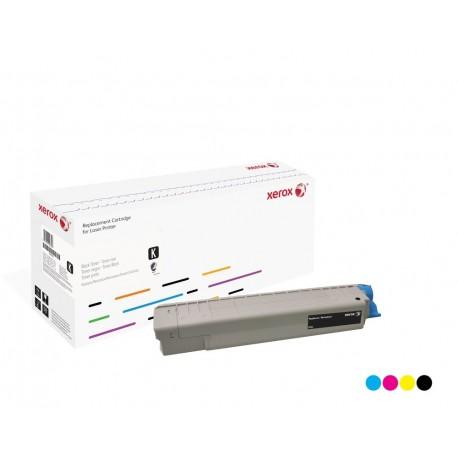 Toner Xerox remplace OKI 44059167 Cyan