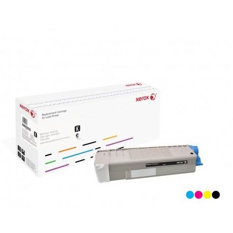 Toner Xerox remplace OKI 43381907 Cyan