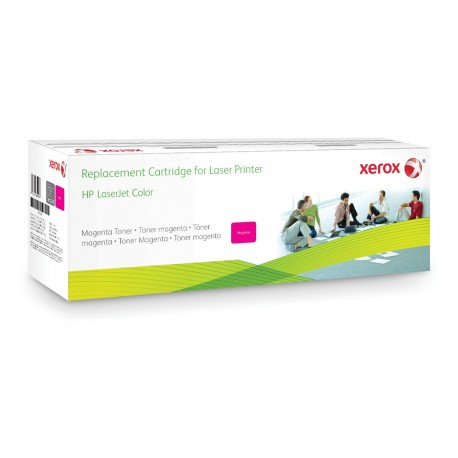 Toner Xerox remplace HP CB387A Magenta