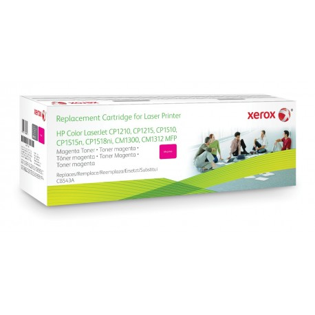 Toner Xerox remplace HP CB543A Magenta