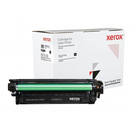 Toner Xerox Everyday remplace HP CE260X Black