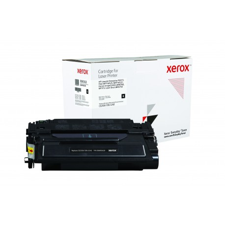 Toner Xerox Everyday remplace HP CE255XCRG-324II Noir