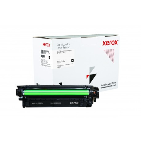 Toner Xerox Everyday remplace HP CE260A Black