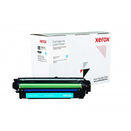 Toner Xerox Everyday remplace HP CE261A Cyan