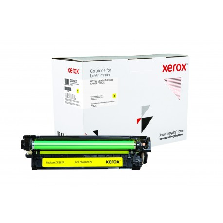 Toner Xerox Everyday remplace HP CE262A Yellow