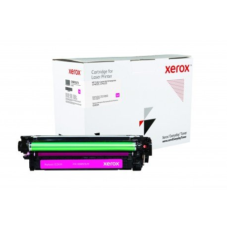 Toner Xerox Everyday remplace HP CE263A Magenta