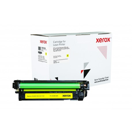 Toner Xerox Everyday remplace HP CE402A Yellow