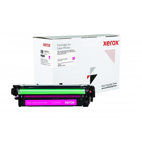 Toner Xerox Everyday remplace HP CE403A Magenta