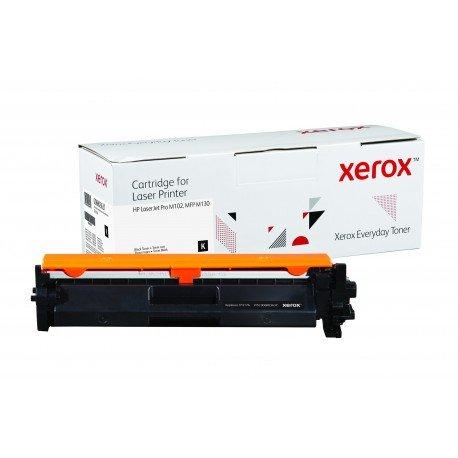 Toner Xerox Everyday remplace HP CF217A Noir