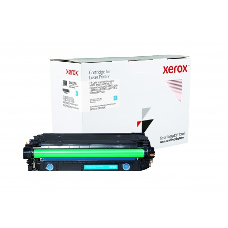 Toner Xerox Everyday remplace HP CF361ACRG-040C Cyan