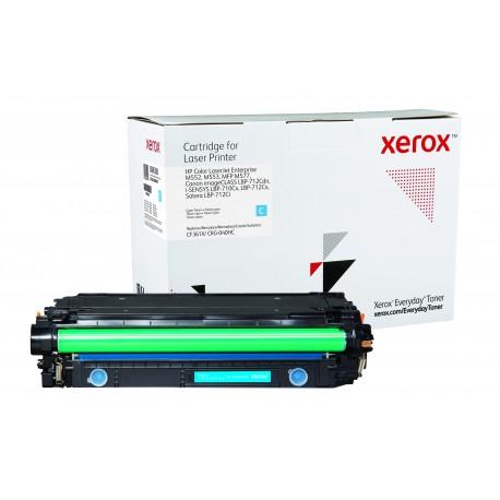 Toner Xerox Everyday remplace HP CF361XCRG-040HC Cyan