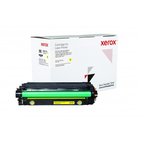 Toner Xerox Everyday équivalent HP CF362A/CRG-040Y Yellow