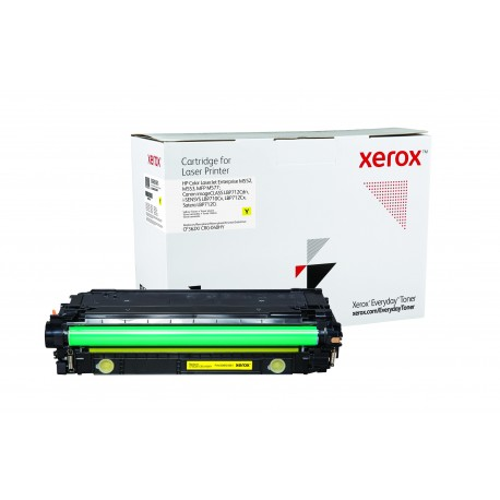 Toner Xerox Everyday remplace HP CF362XCRG-040HY Yellow