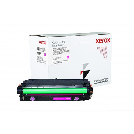 Toner Xerox Everyday remplace HP CF363ACRG-040M Magenta