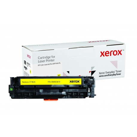 Toner Xerox Everyday remplace HP CF382A Yellow