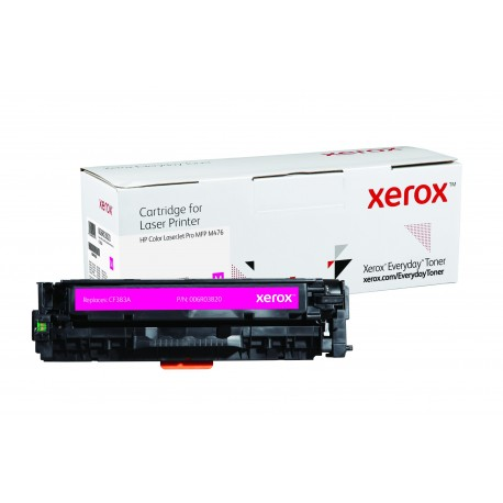 Toner Xerox Everyday remplace HP CF383A Magenta