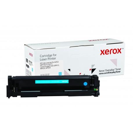Toner Xerox Everyday remplace HP CF401ACRG-045C Cyan