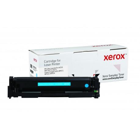 Toner Xerox Everyday équivalent HP CF401X/CRG-045HC Cyan