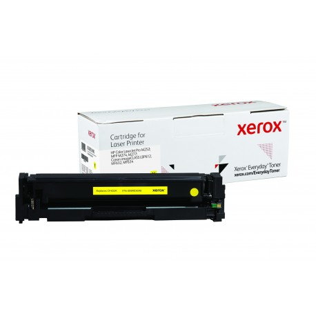 Toner Xerox Everyday remplace HP CF402ACRG-045Y Yellow