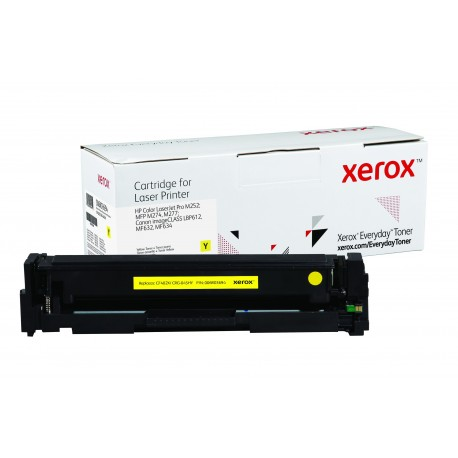 Toner Xerox Everyday remplace HP CF402XCRG-045HY Yellow