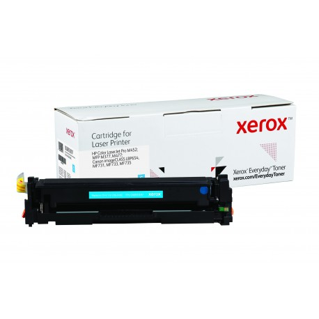 Toner Xerox Everyday remplace HP CF411ACRG-046C Cyan