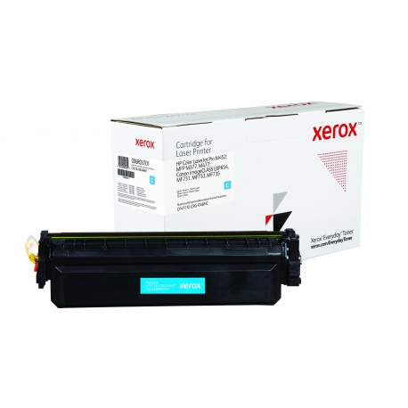 Toner Xerox Everyday remplace HP CF411XCRG-046HC Cyan