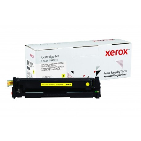 Toner Xerox Everyday remplace HP CF412ACRG-046Y Yellow